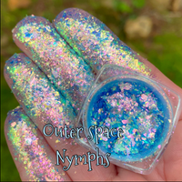 Outer Space Nymphs ~ Iridescent Multi Chrome Eyeshadow Flakes
