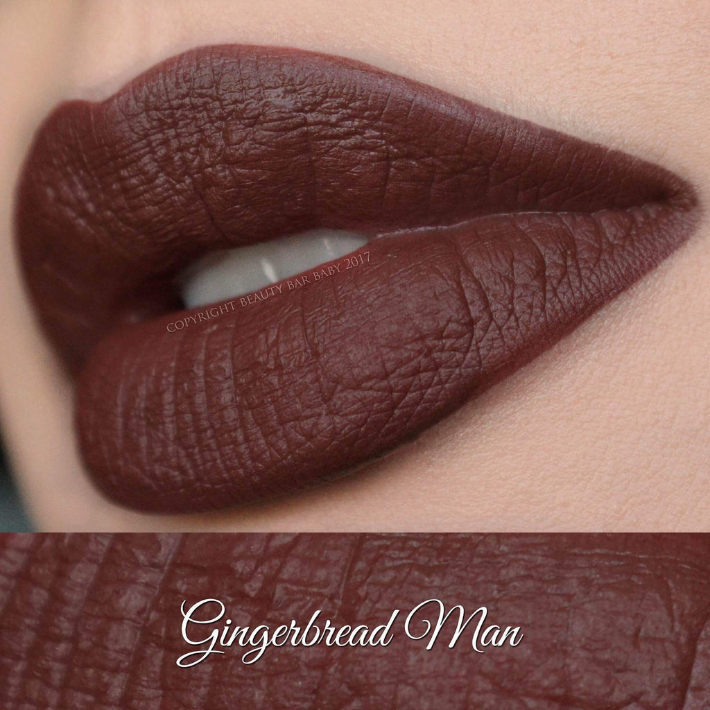 Gingerbread Man Satin Liquid Lipstick