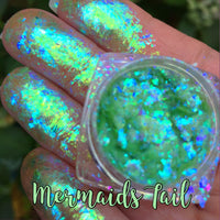 PRE ORDER ~ Mermaids Tail ~ Multi Chrome Eyeshadow Flakes