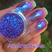 Andromeda ~ Multi Chrome Eyeshadow Flakes
