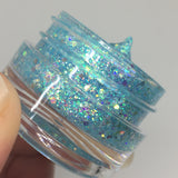 Blue Tizzy Glitter Jelly Gel