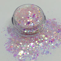 Pink Sprinkled Fairy Loose Chunky Glitter