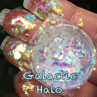 Galatic Halo ~ Multi Chrome Eyeshadow Flakes