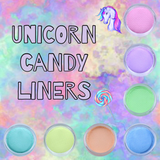 Unicorn Candy Pastel Liners