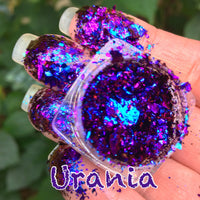 Urania ~ Multi Chrome Eyeshadow Flakes