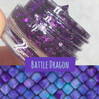 Battle Dragon Glitter Jelly Gel