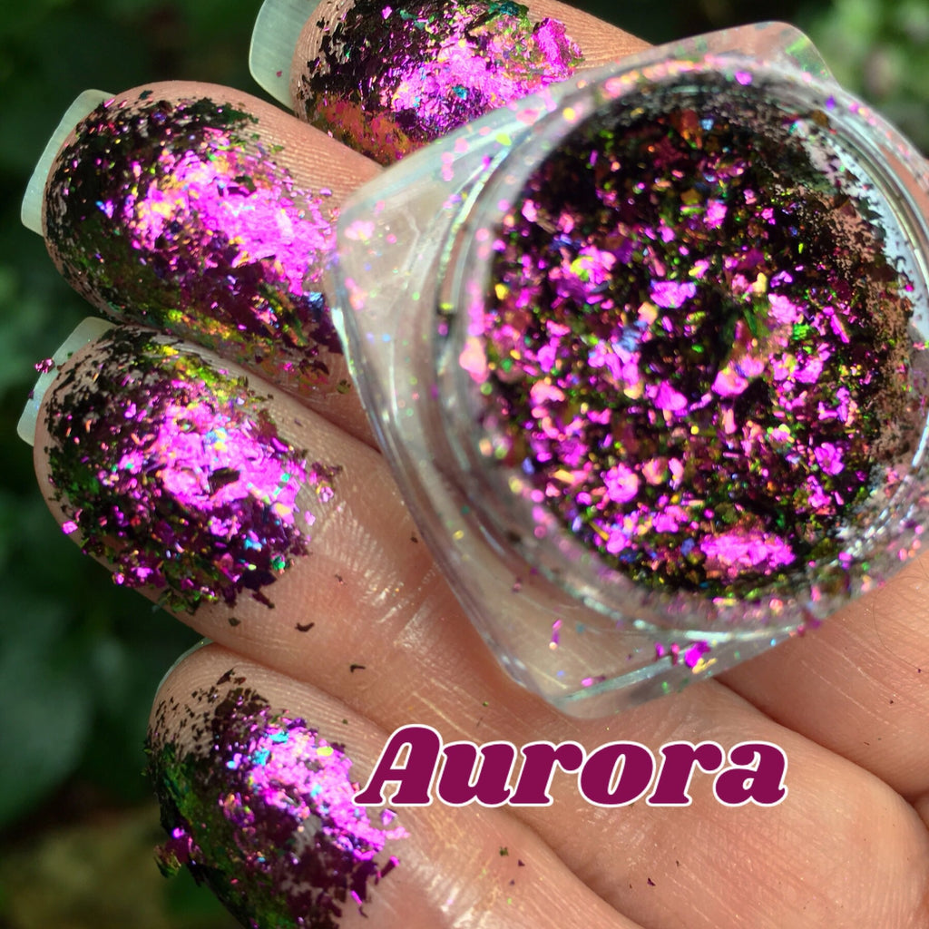 Aurora ~ Multi Chrome Eyeshadow Flake