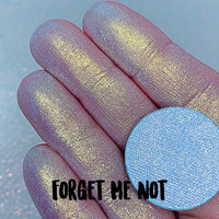 FORGET ME NOT ~ Pressed Pastel Chameleon Eyeshadow Highlighter