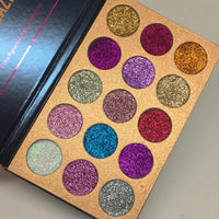 Beauty Glazed 15pc Pressed Glitter Palette