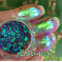 Calypso ~ Multi Chrome Eyeshadow Flakes