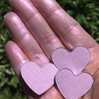 Fluff Pressed Heart Eyeshadow Highlighter