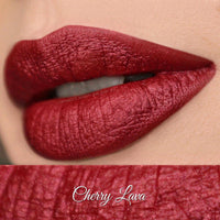 Cherry Lava Semi Metallic Matte Liquid Lipstick