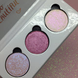 Happy ~  3pc Face & Eyeshadow Trio Palette