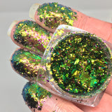 Sirius ~ Multi Chrome Eyeshadow Flakes