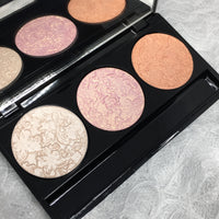 Pretty in Trio Pressed Eye & Face Highlighter Palette