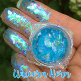 Unicorn Horn ~ Multi Chrome Eyeshadow Flakes