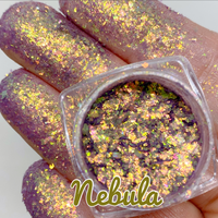 PRE ORDER ~ NEBULA ~ Multi Chrome Eyeshadow Flakes