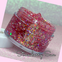 STRAWBERRY SUN Jelly Glitter