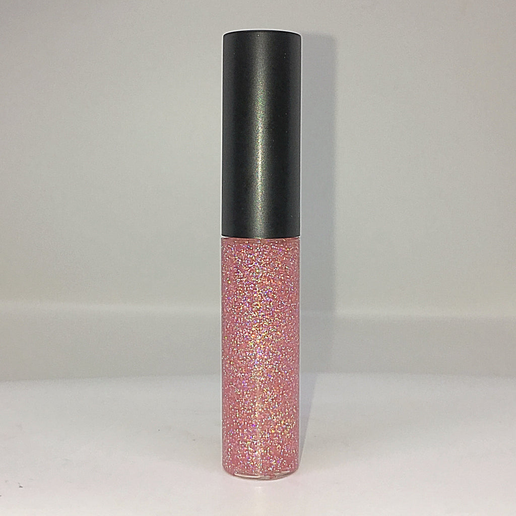 A Touch of Pink Glitter Lip Gloss