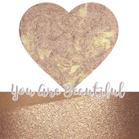 You Are Beautiful Heart Shaped Highlighter