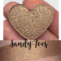 Sandy Toes Pressed Heart Shaped Eyeshadow