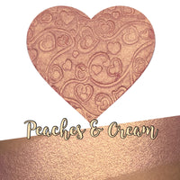 Peaches & Cream Heart Shaped Highlighter