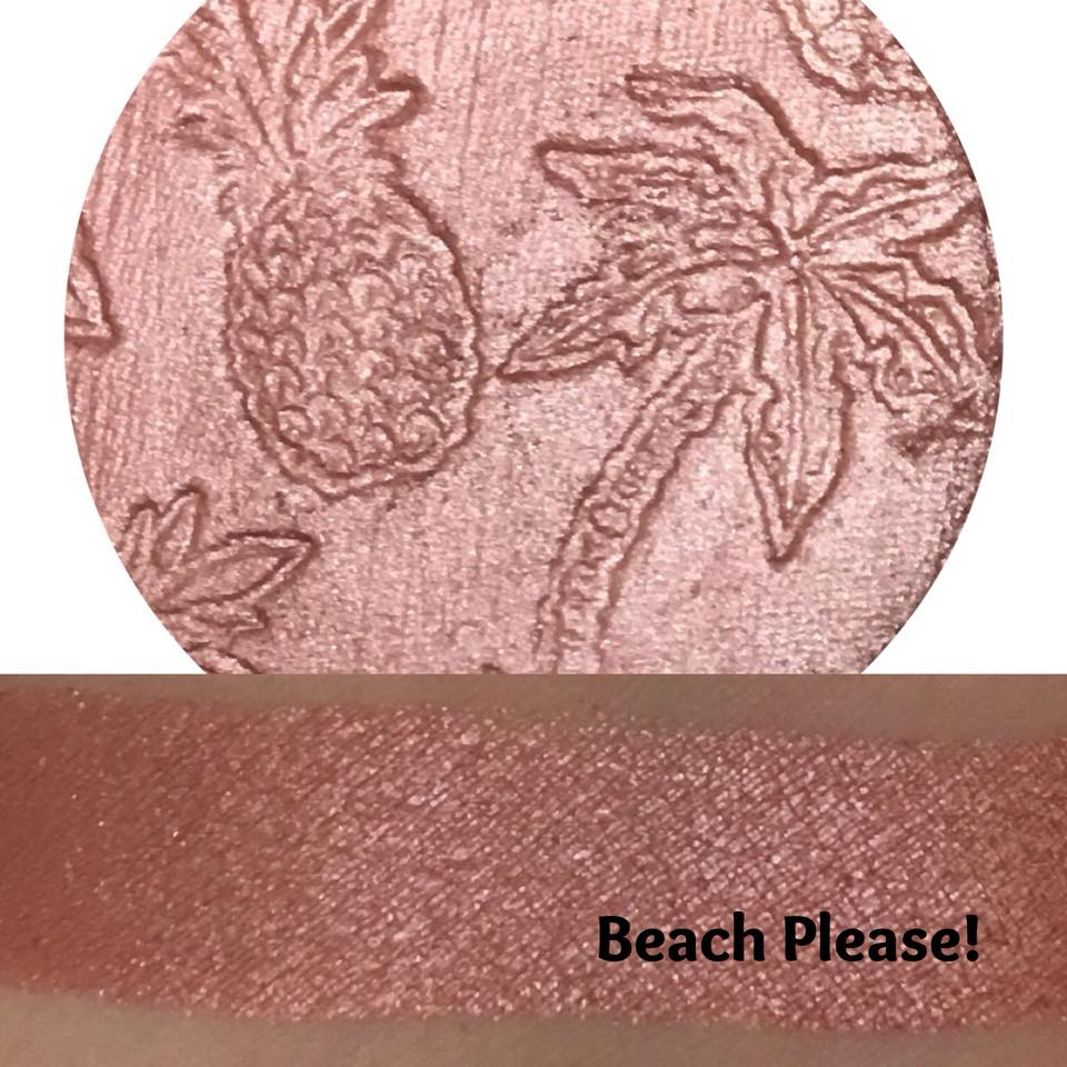 Beach Please! Pressed Highlighter Eyeshadow