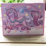 Unicorn and Rainbows Empty Makeup Palette