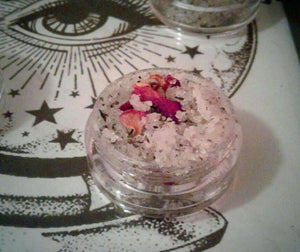Sacred Love  Lip Scrub -Caramel Apple Tea & Rose Petals