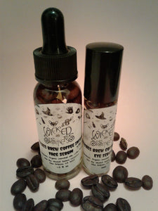 Witches Brew Coffee Infused Eye & Face Serum Bundle