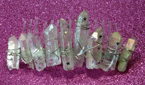 Clear Quartz- Celestial Mini Crown™- by Haus of Witches