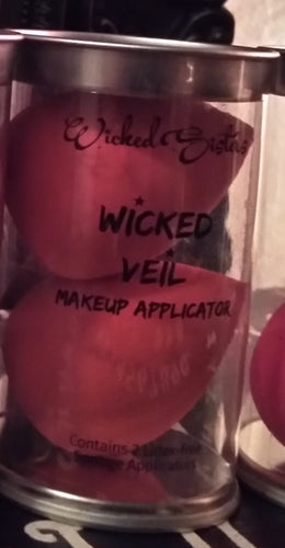 New! Wicked Veil Makeup Applicator -Set of 2 Color Pumpkin Patch-(Bright Orange)