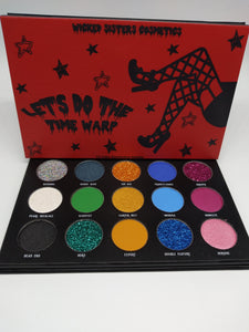Let's Do The Time Warp Eyeshadow Palette (ROCKY HORROR inspired)