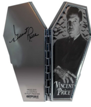 Vincent Price Coffin Shaped Compact Mirror