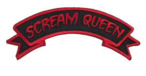 SCREAM QUEEN Clothing Patch