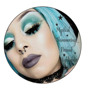 New! SUMMER GOTH x Pearl Suicide -Mystical Shimmering Pressed Bronzer