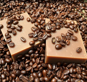New! Damn Fine Coffee  Lathering Body Soap & Exfoliant (Twin Peaks Inspired)
