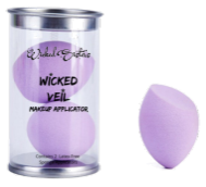New! Wicked Veil Makeup Applicator -Set of 2 Color Purple Potion
