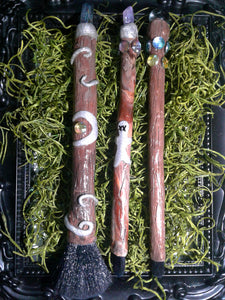 Witchy Wands -Broom Rider brush 3 set