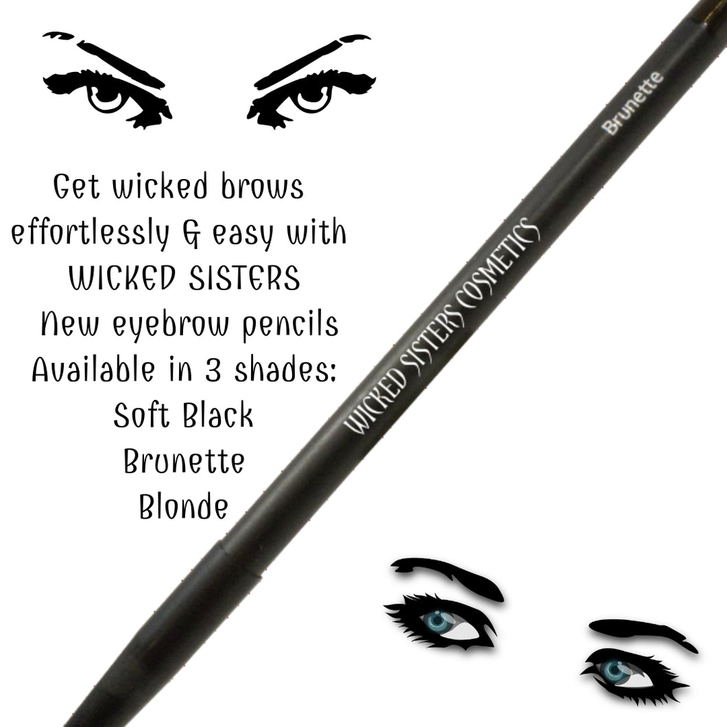 Wicked Eyebrow Pencil- New! (Soft Black)