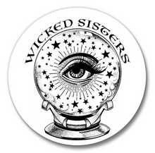 Wicked Sisters Cosmetics Pocket Mirror-New!