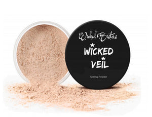 New! Wicked Veil #1 Loose Setting Powder