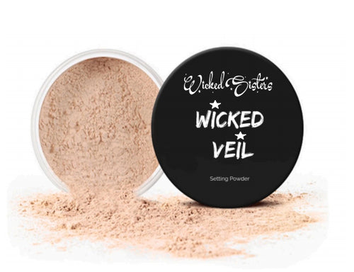 New! Wicked Veil #4 Loose Setting Powder