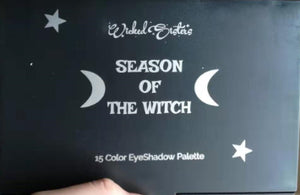New! Season Of The Witch  Eye Shadow Palette