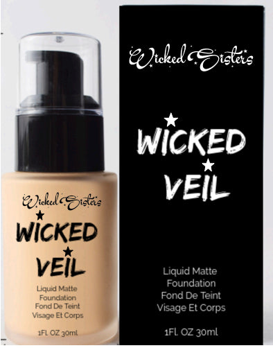 New! Wicked Veil Liquid Matte Foundation #1