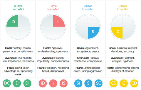 DiSC Profiles: The Twelve Styles of DiSC Personality