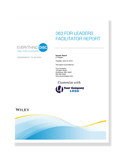 Everything DiSC 363® Facilitator Report