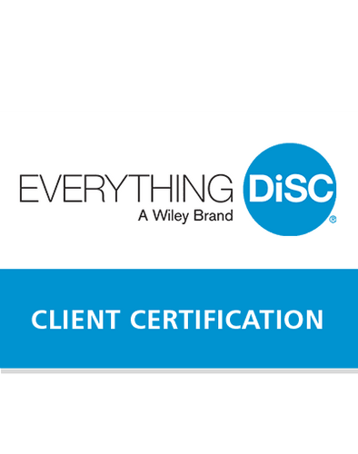 DiSC Certification:  Everything DiSC® Certification