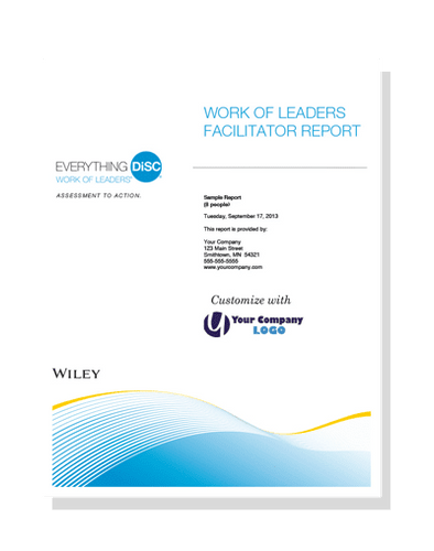 Everything DiSC Work of Leaders® Facilitator Report