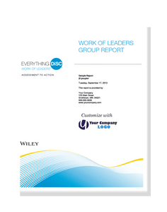 Everything DiSC Work of Leaders® Group Report